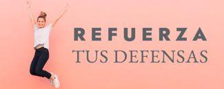 Refuerza tus defensas